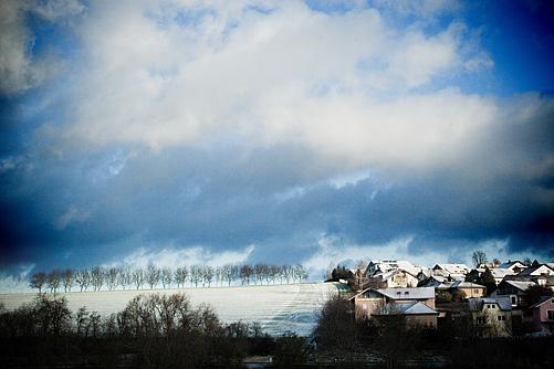 Schnee in Knittlingen - Zwischen Mühlacker und Bretten