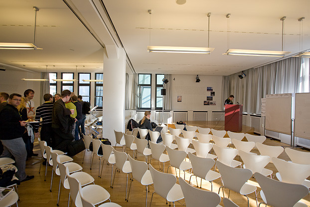 Barcamp Stuttgart - Frühstück und Erster Eindruck