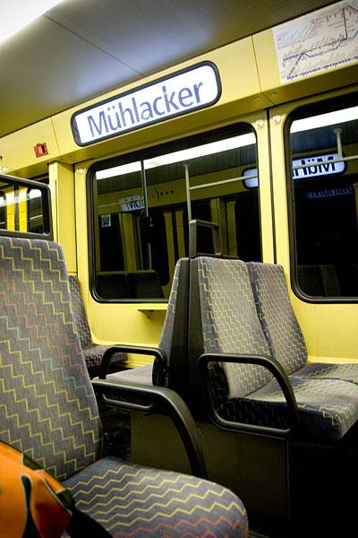 Mit der S-Bahn nach Mühlacker