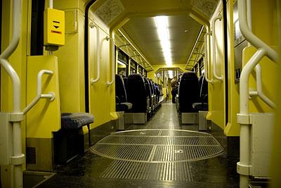 Die S-Bahn auf dem Weg nach Mühlacker