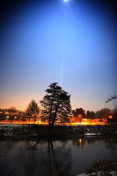 Mühlacker bei Nacht 1