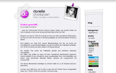 Danielle Blog