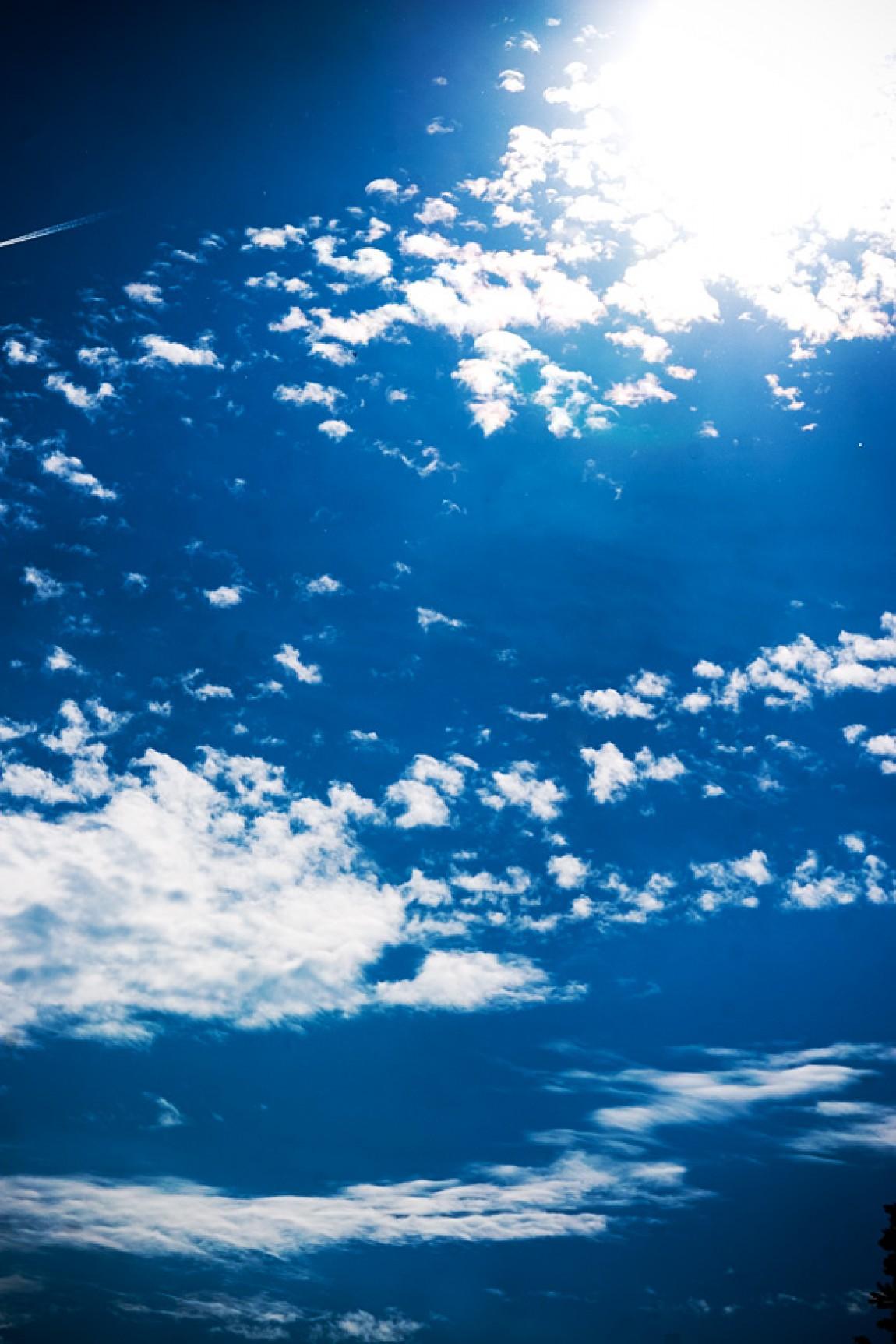 Blauer-Wolken Himmel