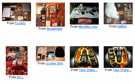Flickr - Whats in your bag