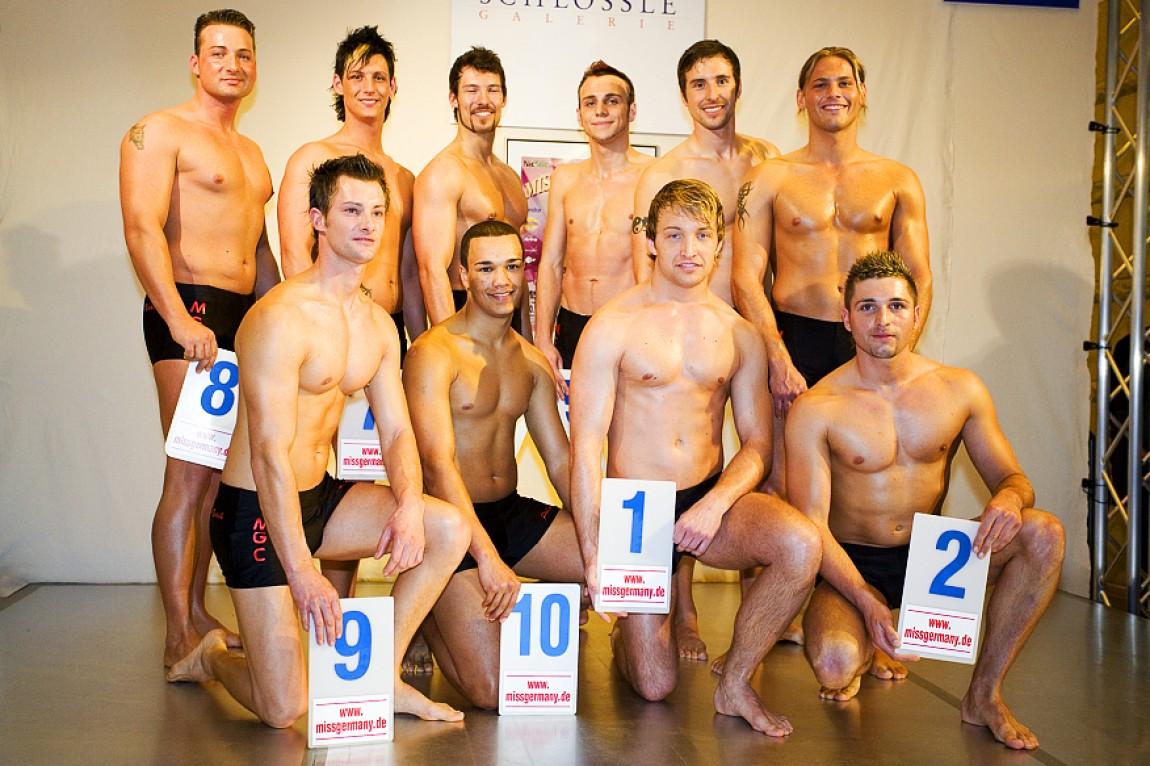Mister Süddeutschland 2007 – Teilnehmer