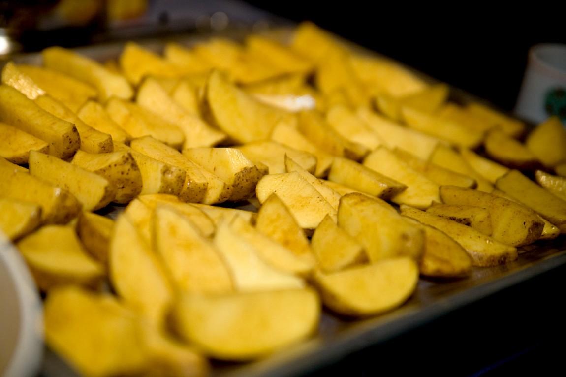 Pikant gewürzte Backoffenkartoffeln