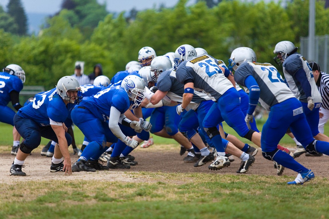 Pforzheim Wilddogs vs. Albershausen Crusaders