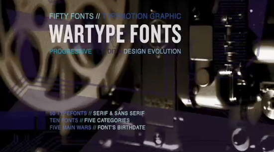 WarTypeFonts