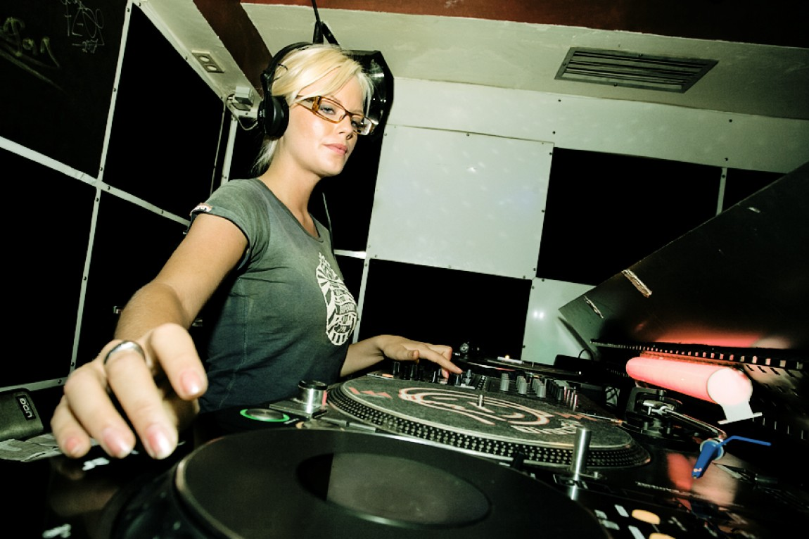 Ida Engberg on the Wheels of Steel