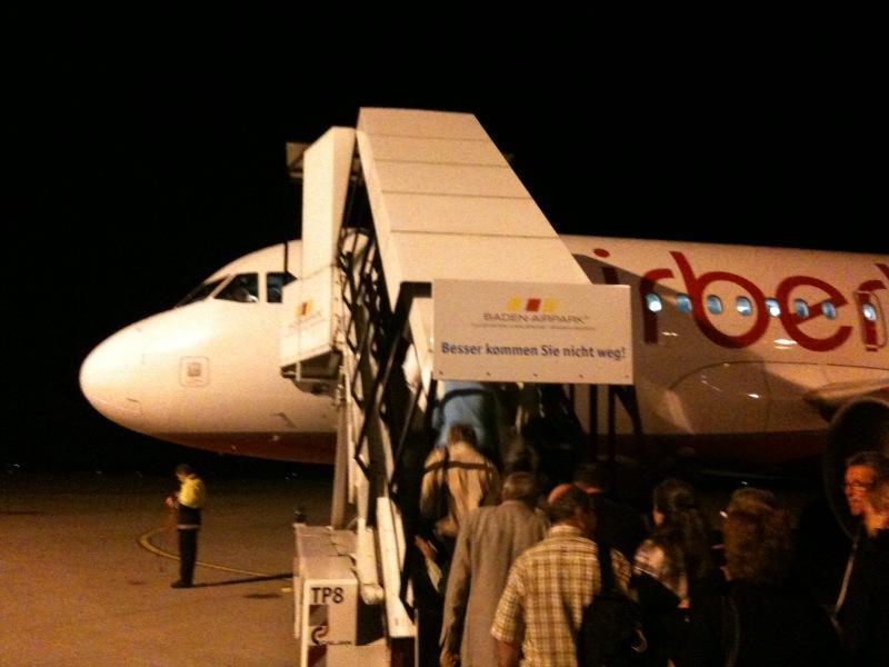 Boarding now!
