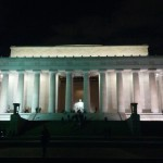 Lincoln Monument bei Nacht