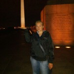 Spaß mit dem Washington Monument