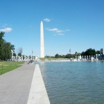Washington Memorial mit Reflect Pool