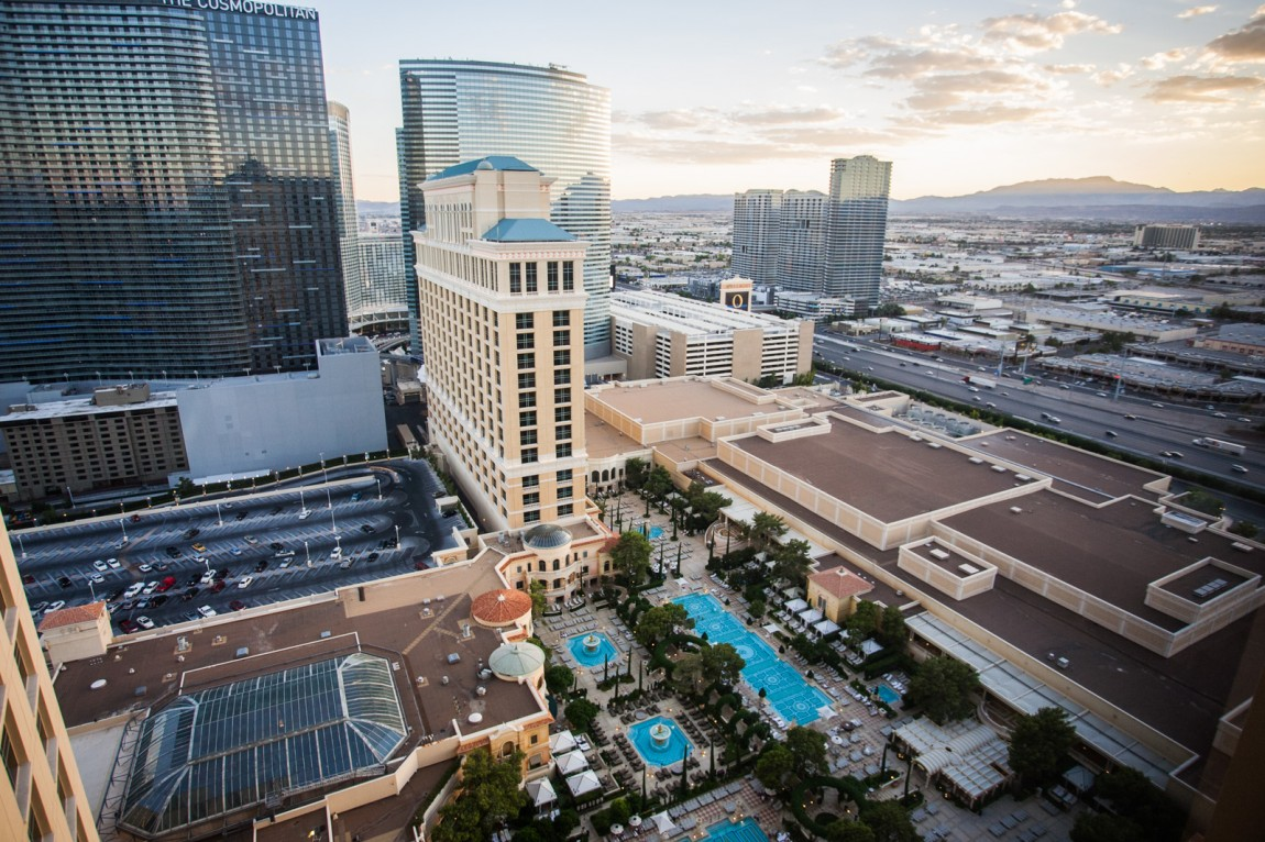 Eine Suite im Bellagio, Las Vegas