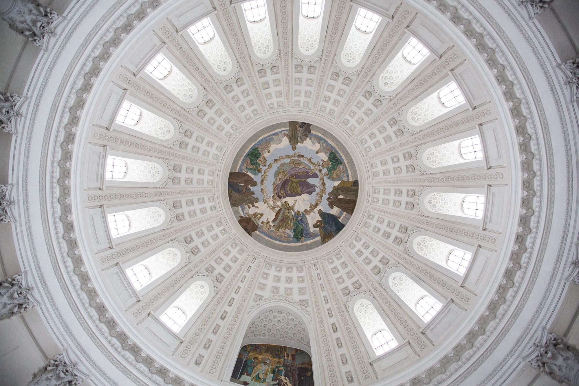 Die Deckenmalerei der Abteikirche des Klosters St. Blasien