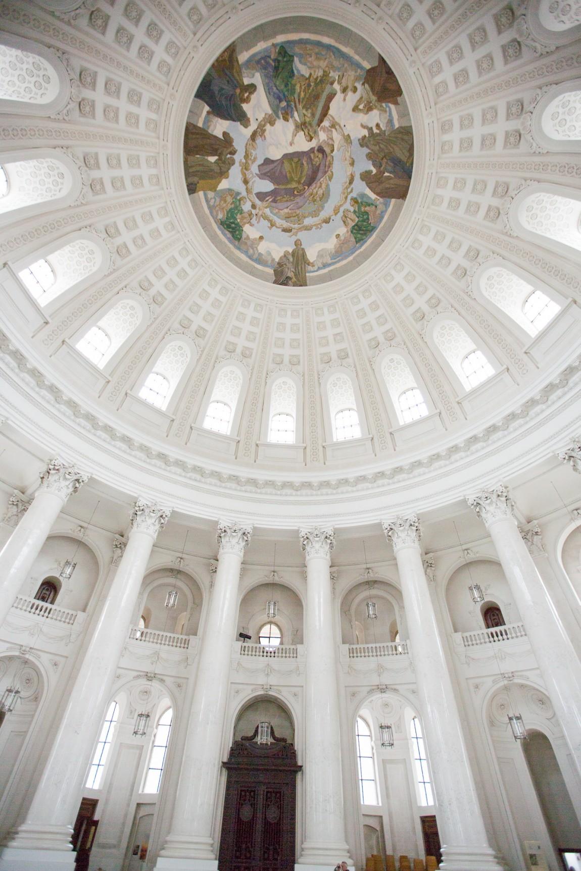 Dom der Abteikirche in St. Blasien