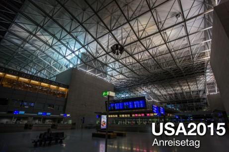 USA 2015 – Anreisetag / Lufthansa Flug mit Kleinkind