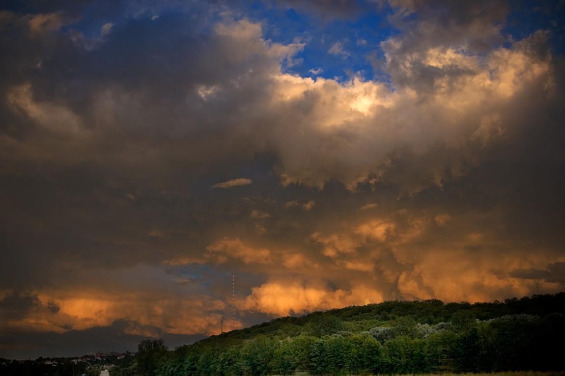 Der Himmel über Mühlacker
