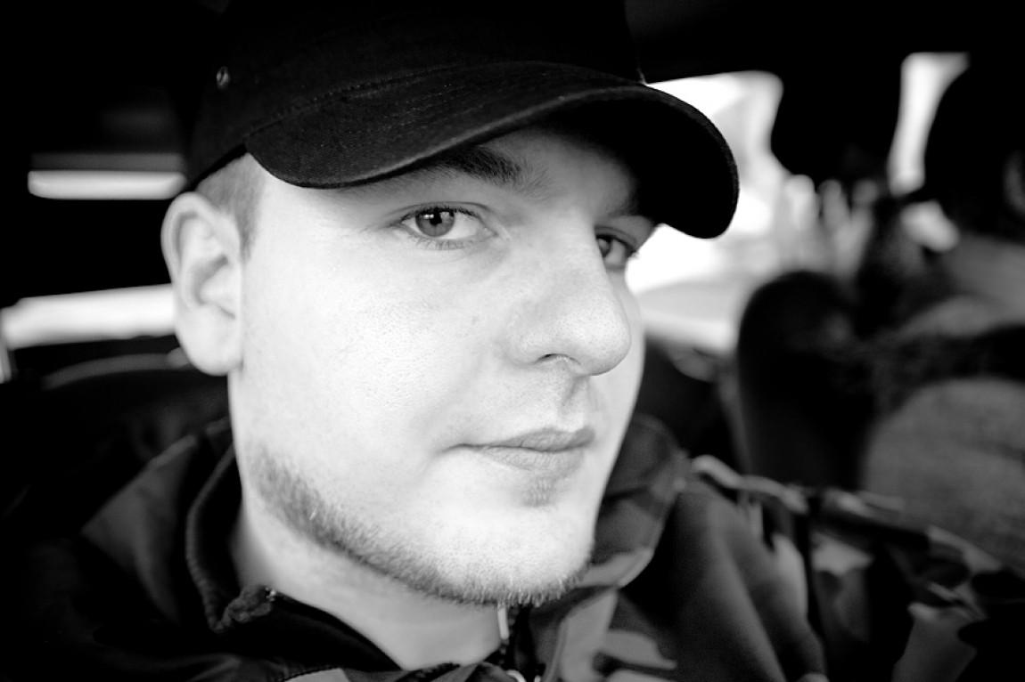 Steffen Siegrist in Schwarz/Weiß