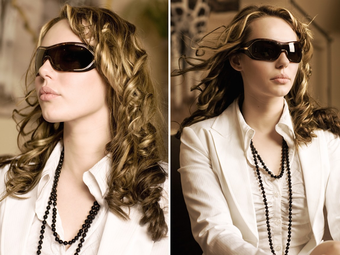 Sunglass Dressed Face 2007 – Sandra Marusic