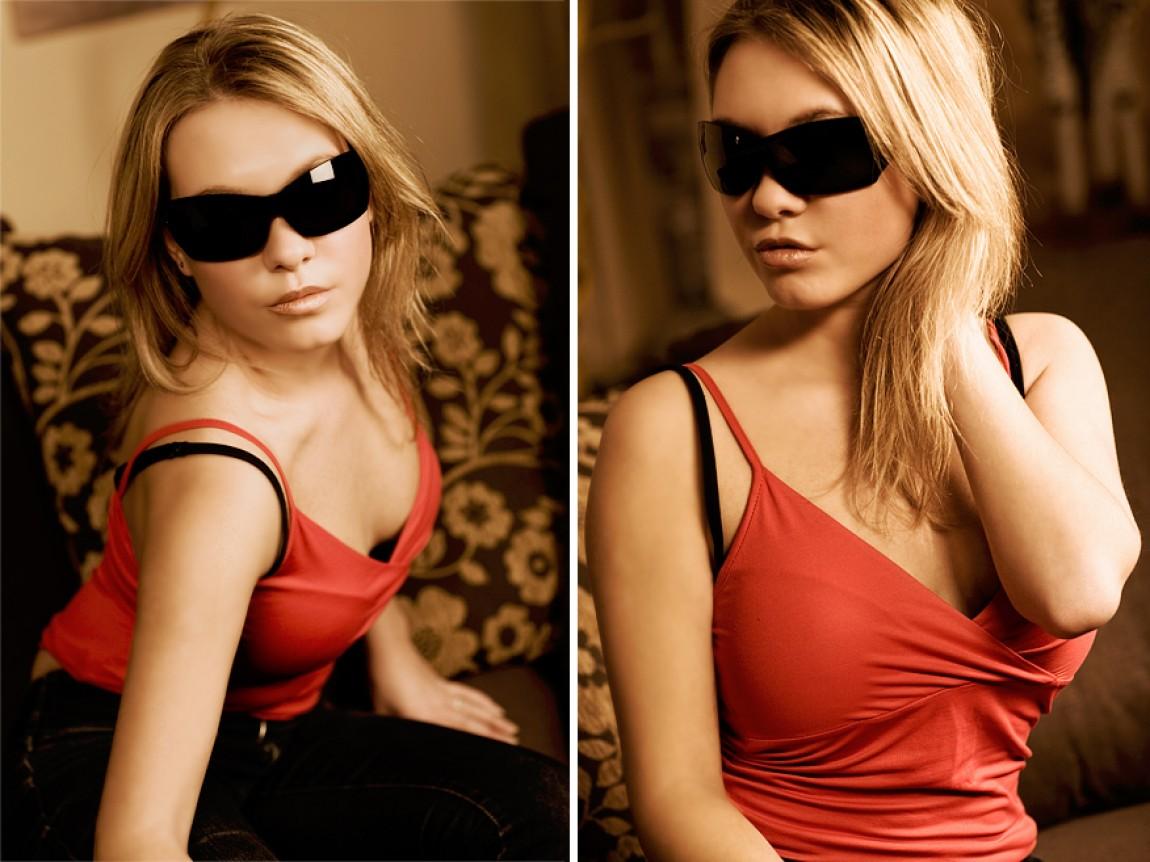 Sunglass Dressed Face 2007 – Ina Mayer