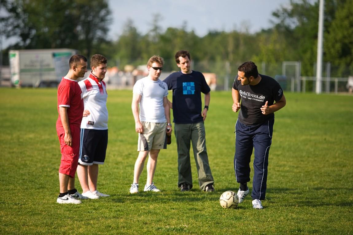 Taktisches Fussballtraining
