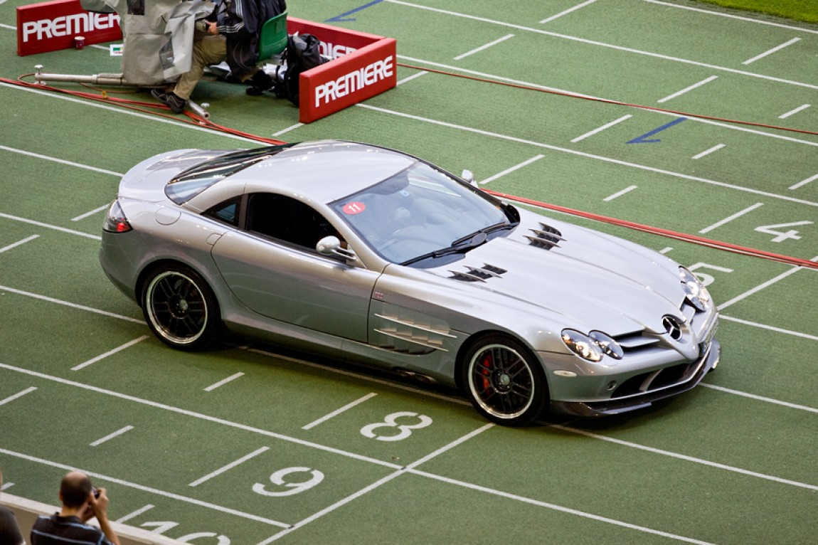 Mercedes-Benz SLR McLaren Coupê