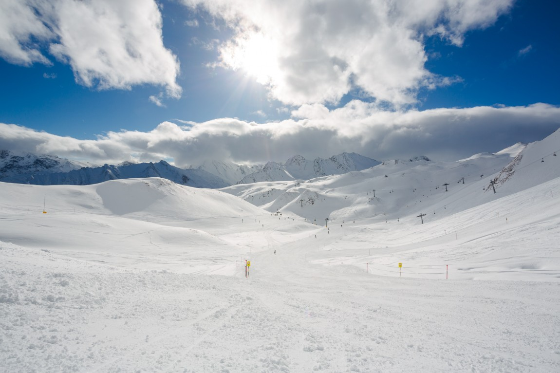 Ischgl austria ski area