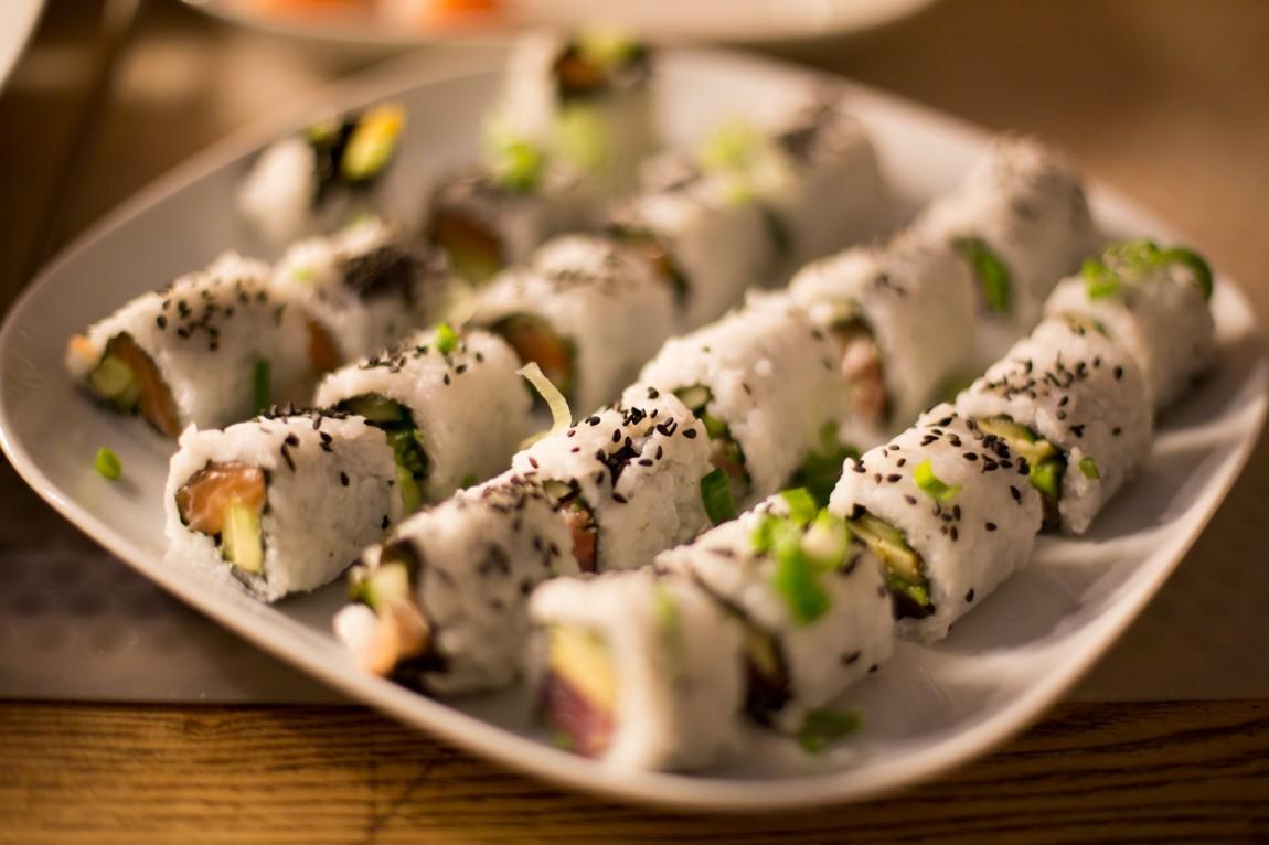 Sushi friday at workomat