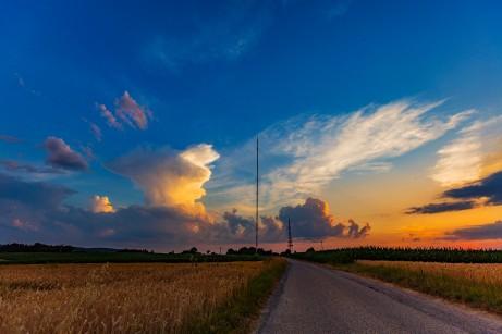Mühlacker Sender Sonnenuntergang