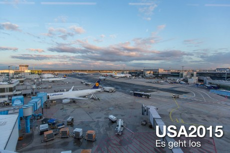 USA 2015 – Es geht los